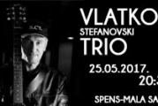 Vlatko Stefanovski 25. maja na Spesnu