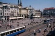 """Maturski pozdrav u Zagrebu """"Za dom spremni"""""""