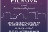 Projekcija filmova na Smederevskoj tvrđavi