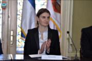 Bjornstad: Poseta premijerke Brnabić ojačaće našu saradnju