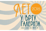 "Manifestacija ""Leto u vrtu galerija"" od 4. do 25. avgusta"