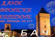 Dani evropske baštine u Baču