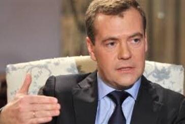 Medvedev u parlamentu, na akademiji, na Kalemegdanu…