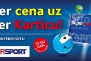 Super Cene uz Super Karticu u Intersportu