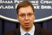 Vučić na otvaranju autoputa Ljig – Preljina
