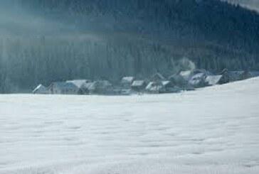 Srbija pod snegom, od srede toplije