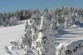 Predveče promena vremena, kiša, na planinama sneg