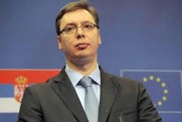 Vučić razgovara sa Mogerini