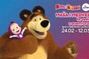 Maša i medved stigli u Novi Sad