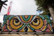 Jedinstveni ekološki mural od limenki na EXITU