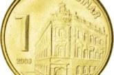 Dinar slabiji 0,1 odsto, kurs 118,32