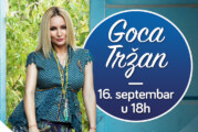 Goca Tržan za vikend peva Novosađanima