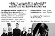 Festival kamerne muzike do 16. septembra u Novom Sadu
