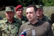 Vulin: Stvaranje paravojske na Kosovu i Metohiji ugrožava čitav region