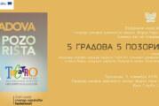 """Izložba """"5 gradova, 5 pozorišta"""" u Novom Sadu"""