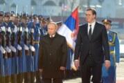 """Vučić s Putinom u Sočiju, otvoreno i u """"četiri oka"""" i sa delegacijama"""