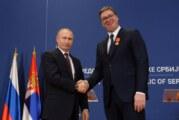 Vučić Putinu: Srbija je privilegovana što ima iskrenog prijatelja kakav je Rusija