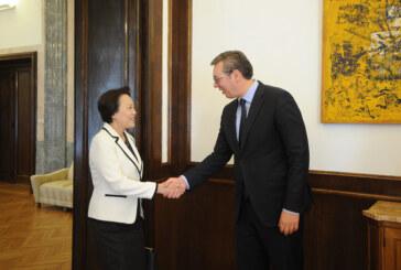 Vučić: Zahvalnost predsedniku Kine za sve što je učinio za Srbiju