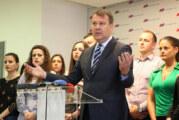 Mirović: Skup u Novom Sadu podrška radu, energiji, rezultatima…