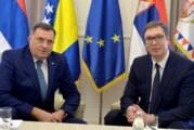 "Dodik: Sa Vučićem o izgradnji spomen-područja ""Donja Gradina"""
