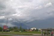Promenljivo oblačno, sparno, mestimično pljuskovi