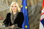 Mihajlović: Podržala sam Vučićev predlog