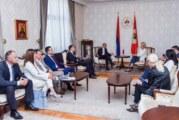 Milićević sa zvaničnicima Republike Srpske o saradnji