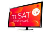 m:SAT tv – Najbolja televizija za sela i vikend naselja