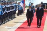 Zajednička izjava predsednika Vučića i Makrona