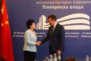Mirović i Li: Sve veći broj kineskih kompanija koje posluju u Vojvodini