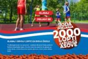 """Roda je još jednom pokrenula akciju """"2000 lopti za buduće asove"""""""