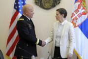 Brnabić: SAD nikada jasnije da Priština treba da ukine takse