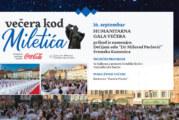 Sutra humanitarna Večera kod Miletića