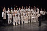 """Ruski hor """"Kapela dečaka i mladića"""" osvojio novosadsku publiku nastupom u Srpskom narodnom pozorištu"""