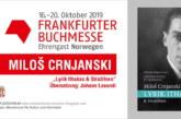 Crnjanski na sajmu knjiga u Frankfurtu