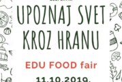 """""""EDU FOOD fair"""" danas u Novom Sadu"""