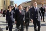 Delegacija Komunističke partije Kine u Novom Sadu