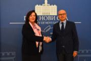Vučević sa ambasadorkom BiH o povezivanju privrednika