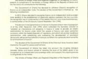 Nova pobeda srpske diplomatije – Gana povukla priznanje Prištine