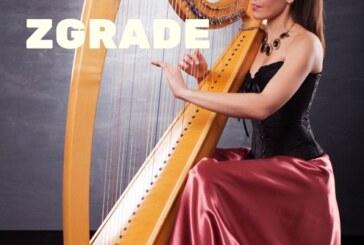 Koncert harfe u holu zgrade u Novom Sadu