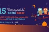 Petnaesti novosadski noćni bazar 15. novembra