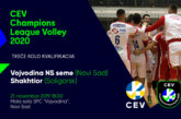 Poslednja prepreka do Lige šampiona: Voša dočekuje Beloruse