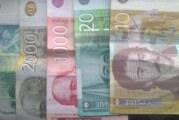Dinar bez oscilacija, kurs 117,51