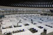 Kroz privremenu kovid bolnicu na Beogradskom sajmu prošlo 1.300 pacijenata, danas se zatvara