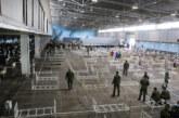 Hale Novosadskog sajma do petka spremne za prijem zaraženih