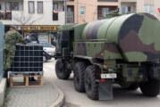 Vojska dezinfikovala ulice u Novom Pazaru