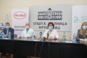"""Fondacija """"Novak Đoković"""" i """"Henkel"""" donirali respiratore i monitore bolnici u Kruševcu"""