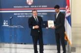 Đokoviću povelja za promociju interesa Srbije u svetu