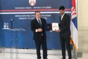 Đokoviću nagrada za promociju interesa Srbije u svetu