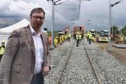 Vučić: Ako EU ne prihvati, prugu Beograd-Niš gradimo sa CRBC